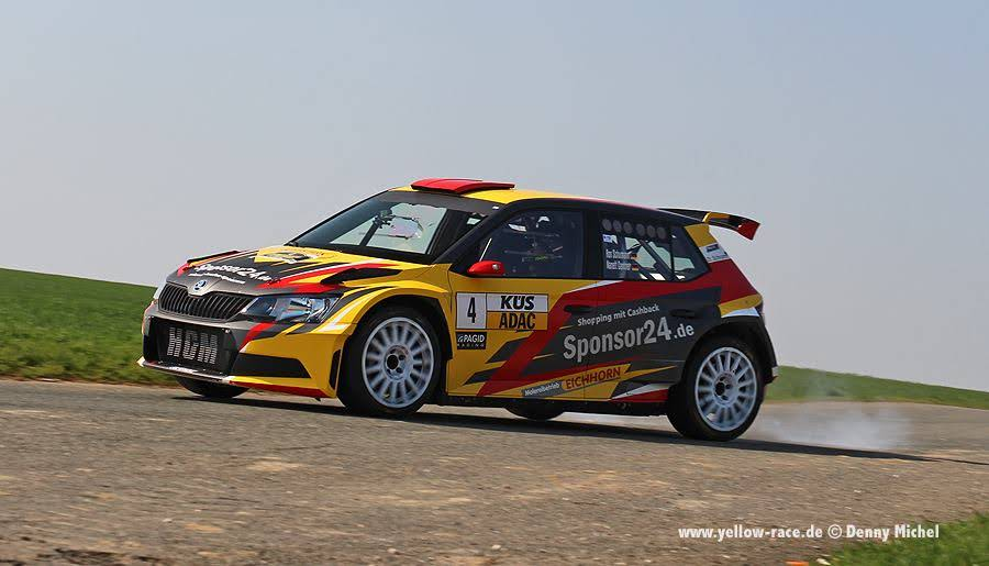 Yellow-Race Skoda R5