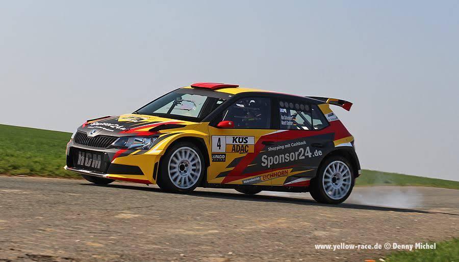 Yellow-Race Skoda R5